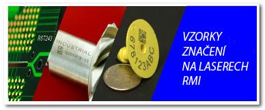 vzorky znacenia laser RMI